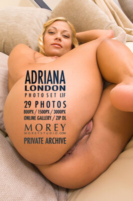Adriana London erotic photography by craig morey