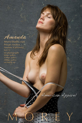 Amanda California art nude photos by craig morey