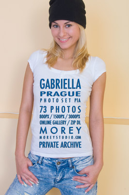Gabriella Prague art nude photos of nude models