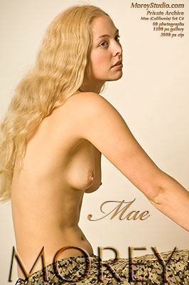 Mae California erotic photography of nude models