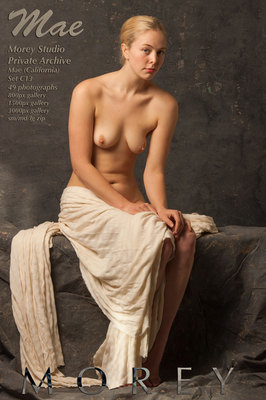 Mae California nude photography by craig morey