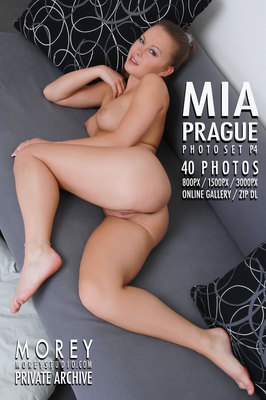 Mia Prague nude photography by craig morey