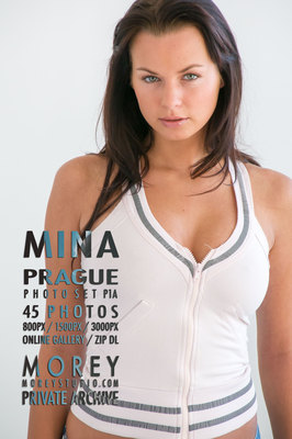 Mina Prague nude photography by craig morey
