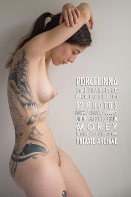 Porcelinna California art nude photos by craig morey