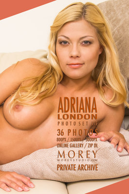 Adriana London art nude photos of nude models