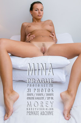 Mina Prague nude photography of nude models