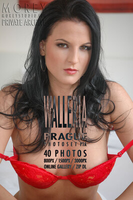 Walleria Prague nude photography of nude models